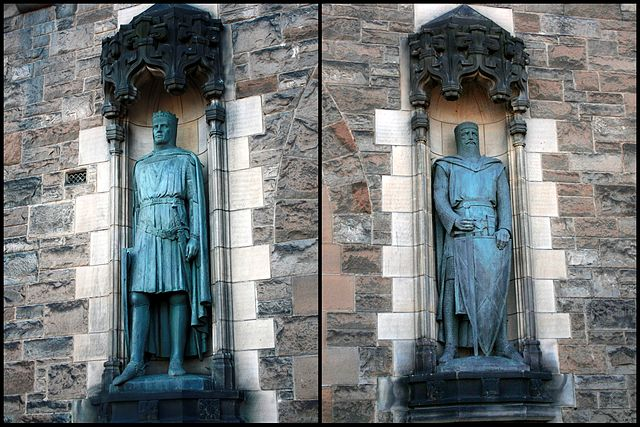 Wallace Bruce statues