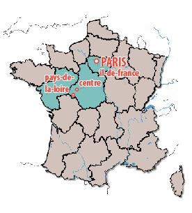 Paris Loire Map
