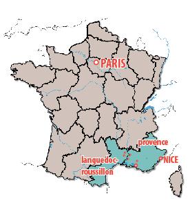 Roman Provence Map
