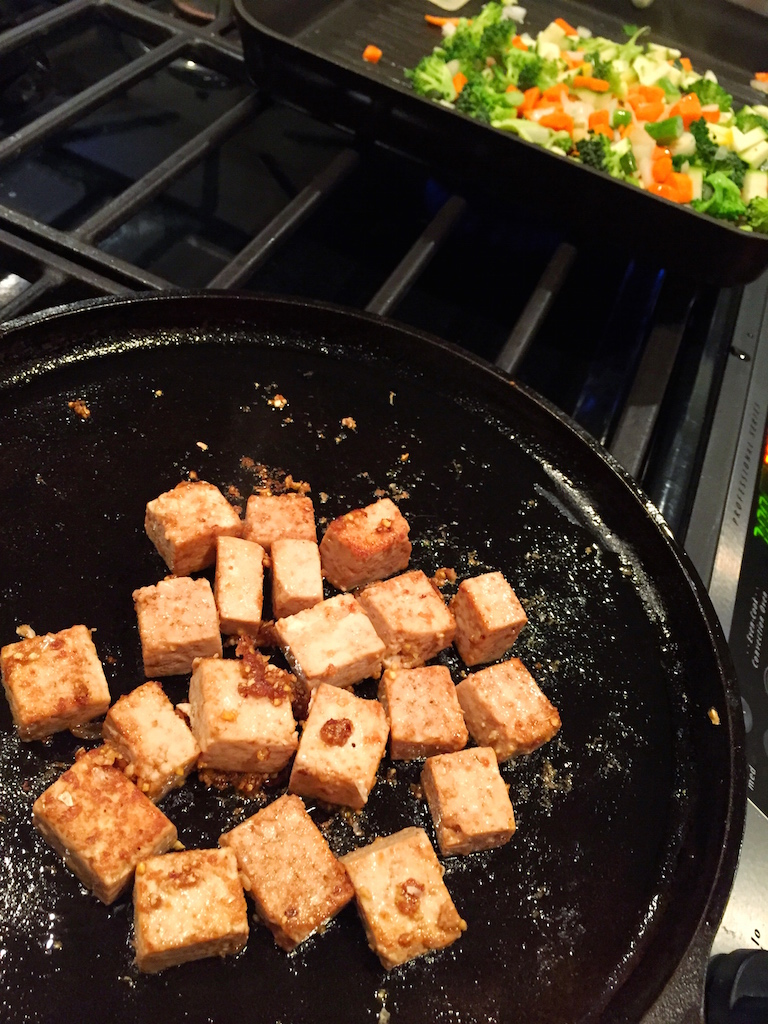 A Taste of Travel: Soy & Ginger Seared Tofu with Vegetable ...