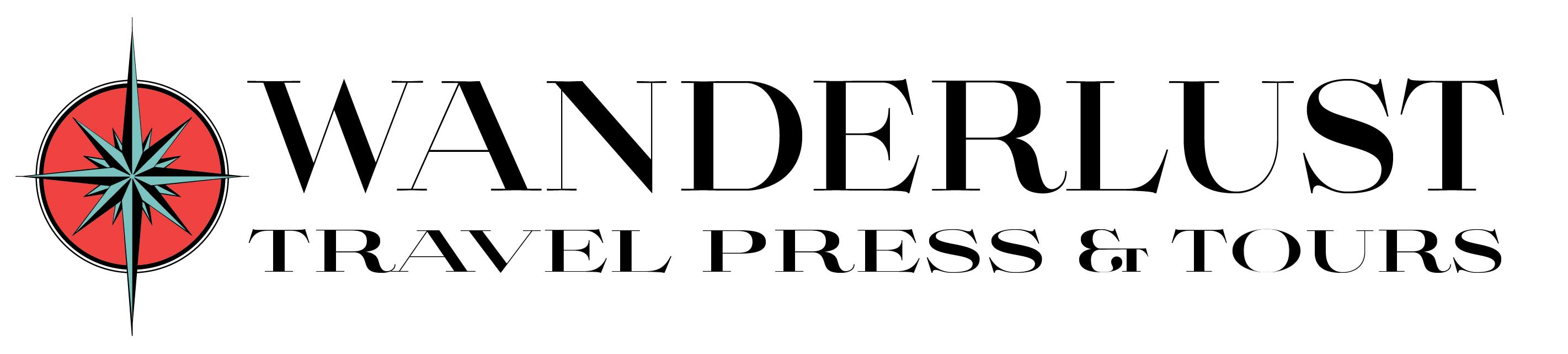 Wanderlust Travel Press and Tours Logo